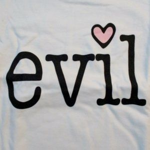 NEW EVIL NAUGHTY HEART LOVE BAD BOY T-Shirt